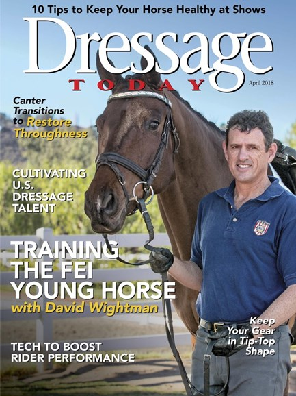 Dressage Today Cover - 4/1/2018