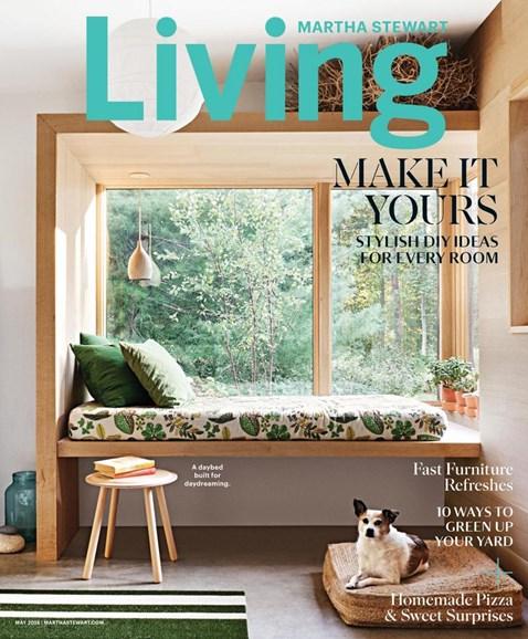Martha Stewart Living Cover - 5/1/2018
