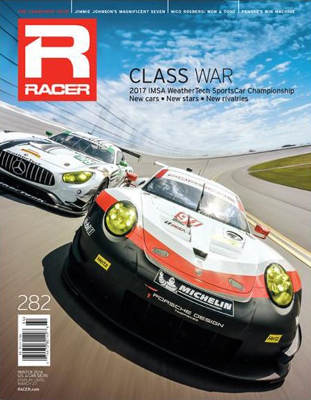 Racer Cover - 12/1/2016