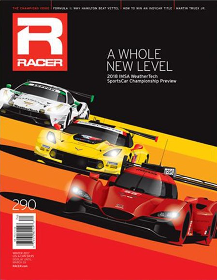 Racer Cover - 12/1/2017