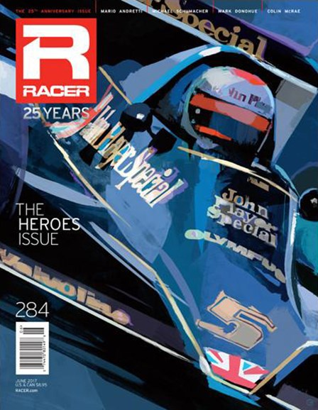 Racer Cover - 6/1/2017
