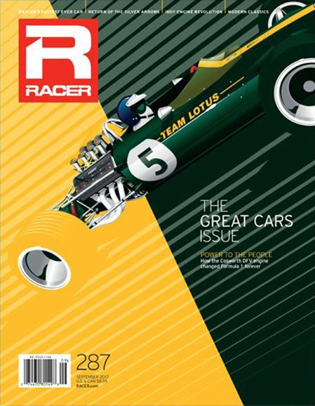 Racer Cover - 9/1/2017