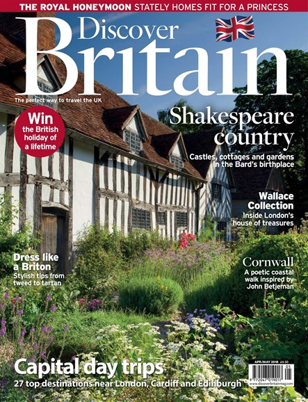 Discover Britain Cover - 4/1/2018