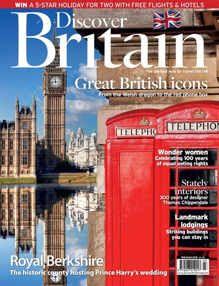 Discover Britain Cover - 2/1/2018