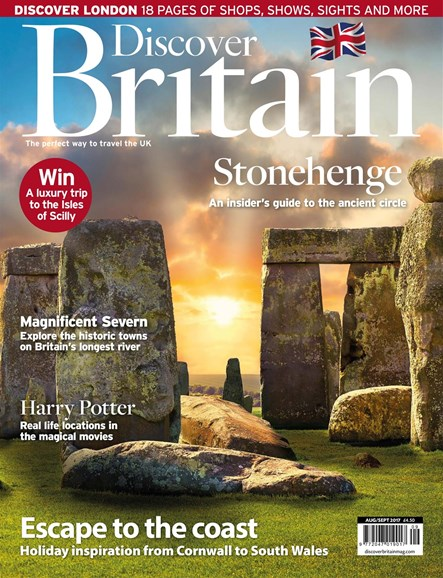 Discover Britain Cover - 8/1/2017