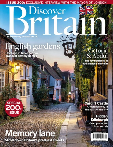 Discover Britain Cover - 10/1/2017