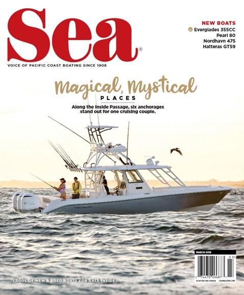 Sea Magazine Cover - 3/1/2018
