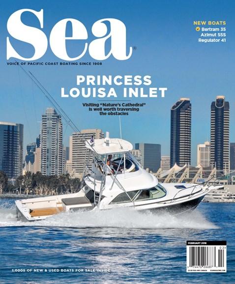 Sea Magazine Cover - 2/1/2018