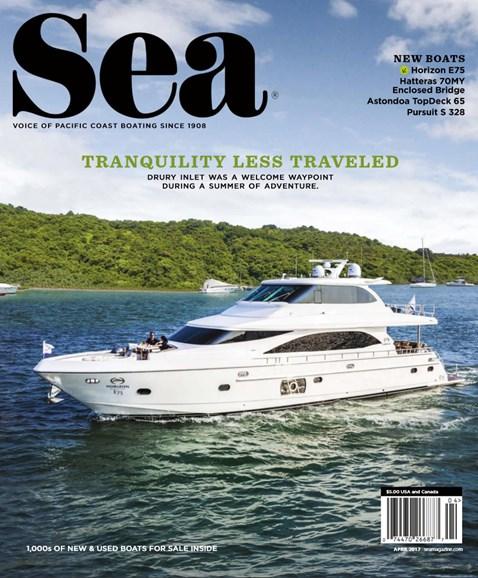 Sea Magazine Cover - 4/1/2017