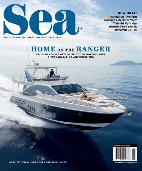 Sea Magazine Cover - 8/1/2017