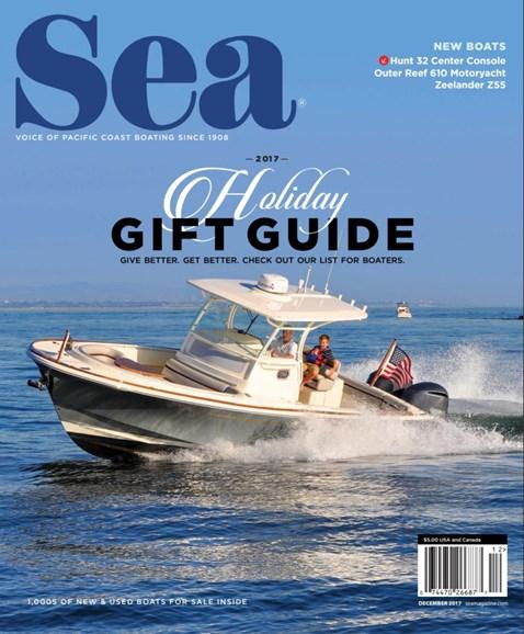 Sea Magazine Cover - 12/1/2017