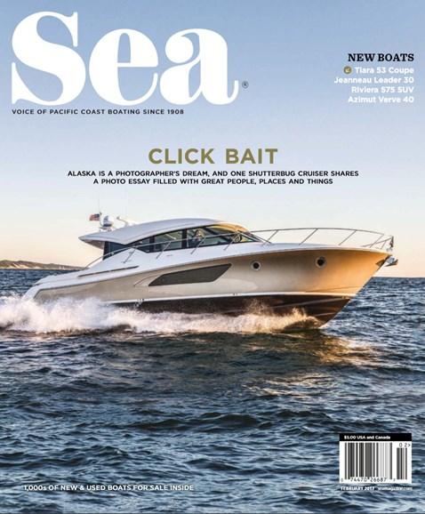 Sea Magazine Cover - 2/1/2017
