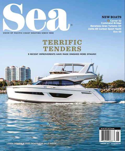 Sea Magazine Cover - 1/1/2017