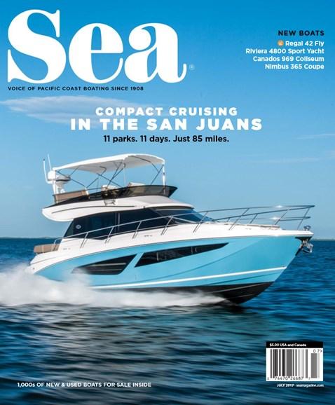 Sea Magazine Cover - 7/1/2017