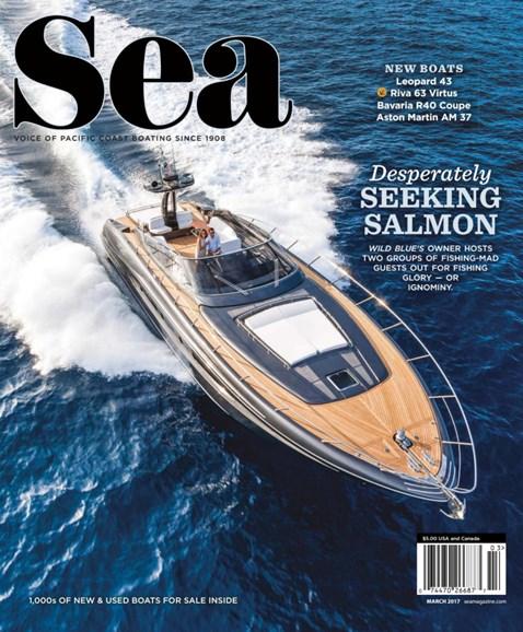 Sea Magazine Cover - 3/1/2017