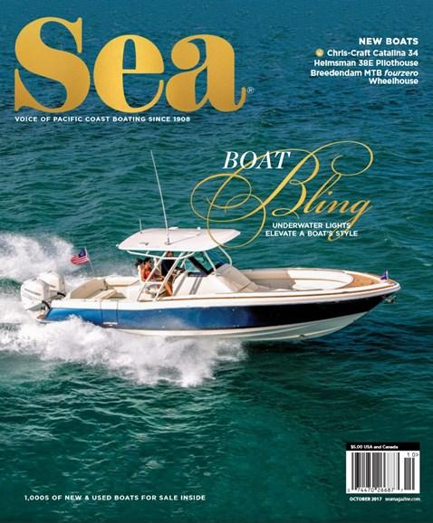 Sea Magazine Cover - 10/1/2017