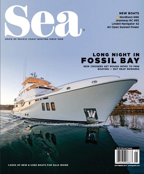 Sea Magazine Cover - 9/1/2017
