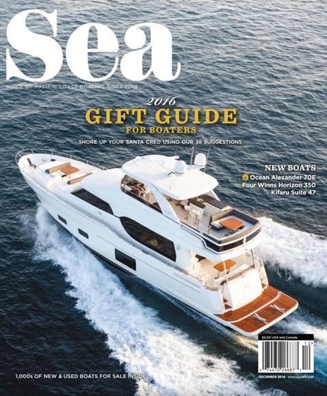 Sea Magazine Cover - 12/1/2016