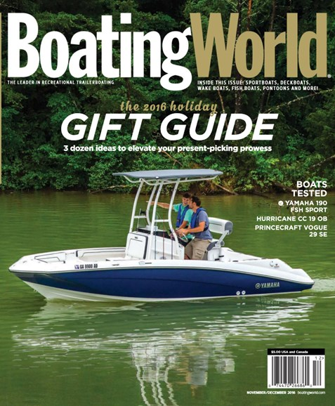 Boating World Cover - 11/1/2016