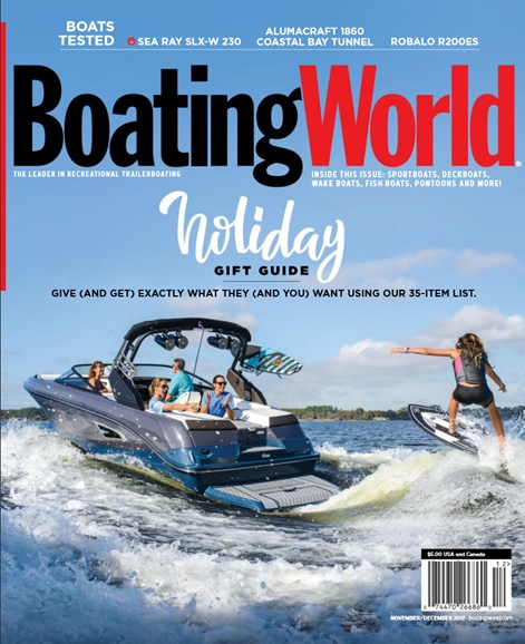 Boating World Cover - 11/1/2017