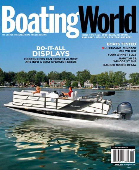Boating World Cover - 4/1/2017