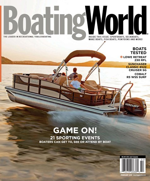 Boating World Cover - 2/1/2017