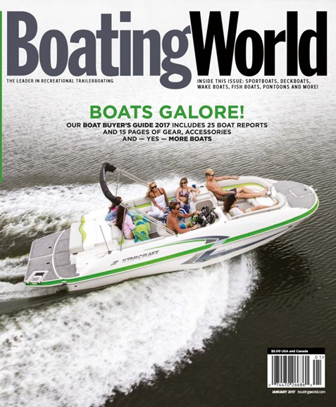 Boating World Cover - 1/1/2017