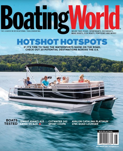 Boating World Cover - 7/1/2017