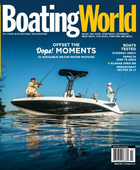 Boating World Cover - 3/1/2017