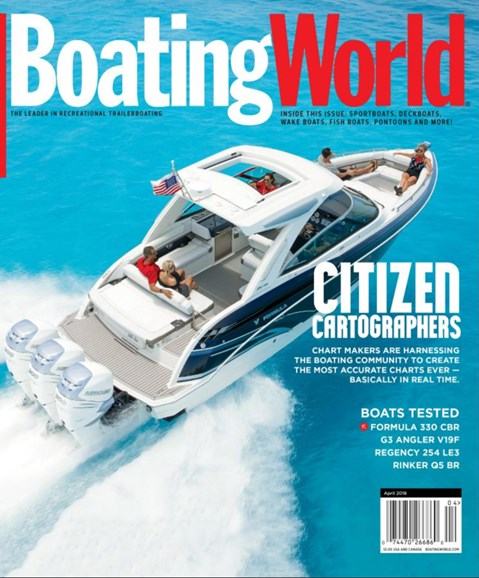 Boating World Cover - 4/1/2018