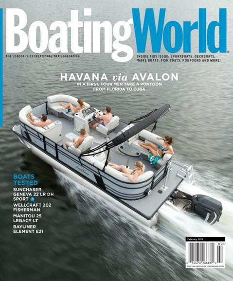 Boating World Cover - 2/1/2018