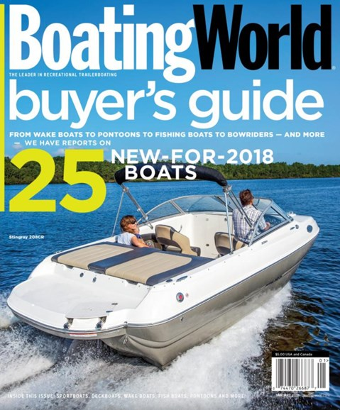 Boating World Cover - 1/1/2018