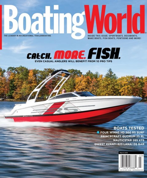 Boating World Cover - 3/1/2018