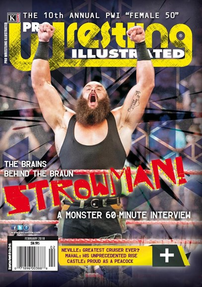 Pro Wrestling Illustrated Cover - 2/1/2018