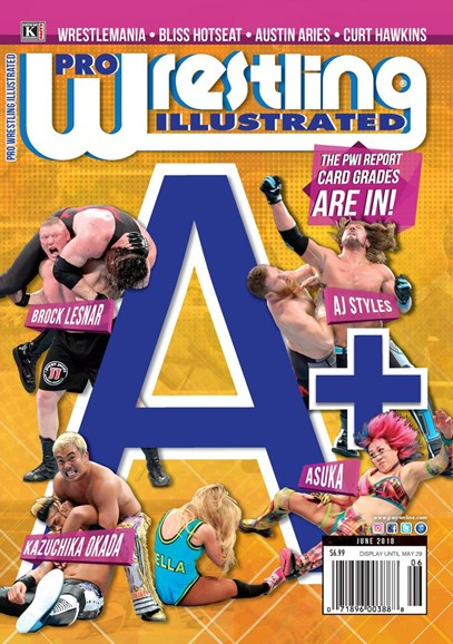Pro Wrestling Illustrated Cover - 6/1/2018