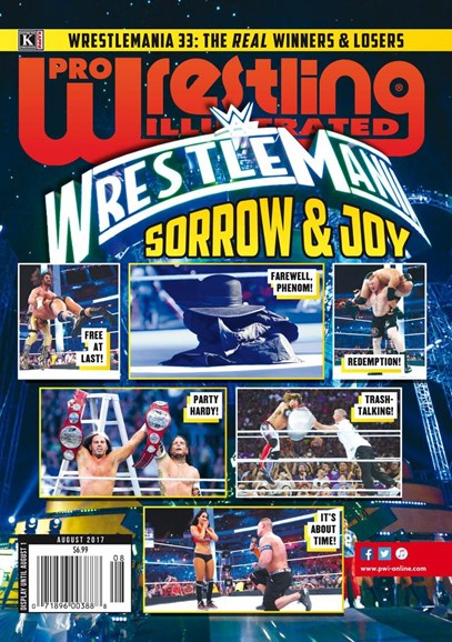 Pro Wrestling Illustrated Cover - 8/1/2017