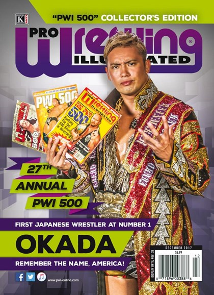 Pro Wrestling Illustrated Cover - 12/1/2017