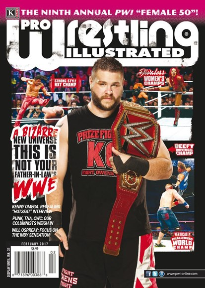 Pro Wrestling Illustrated Cover - 2/1/2017