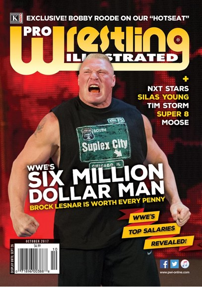 Pro Wrestling Illustrated Cover - 10/1/2017