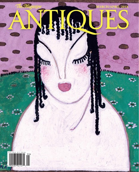 The Magazine Antiques Cover - 3/1/2018
