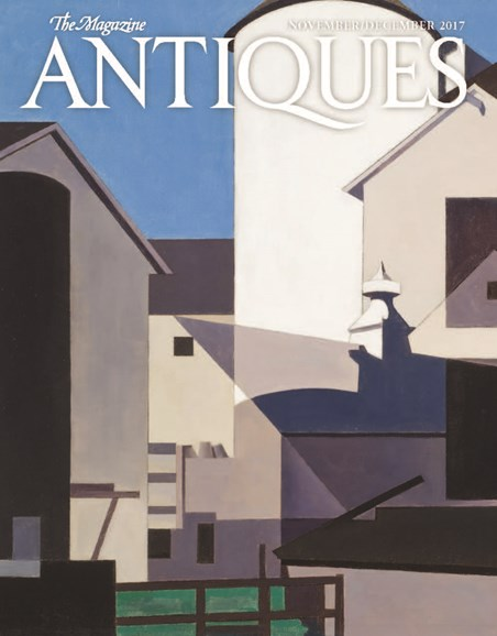 The Magazine Antiques Cover - 11/1/2017