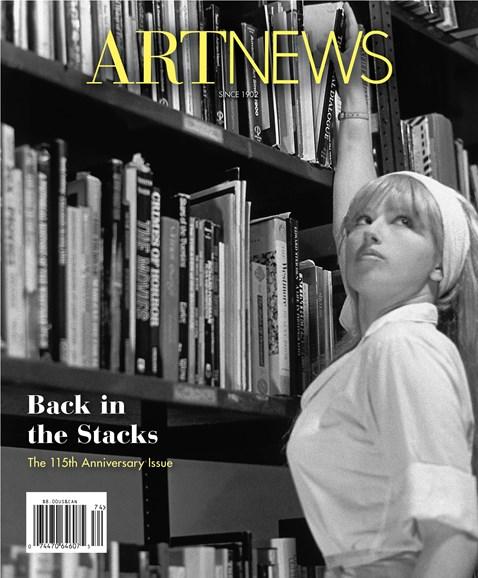 ARTnews Cover - 12/1/2017