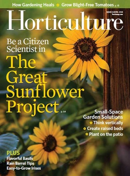 Horticulture Cover - 3/1/2018