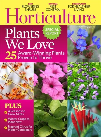 Horticulture Cover - 11/1/2017
