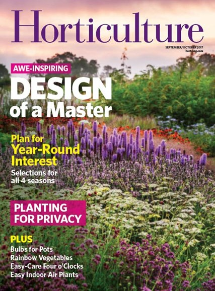 Horticulture Cover - 9/1/2017