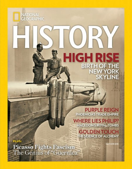 National Geographic History Cover - 5/1/2018
