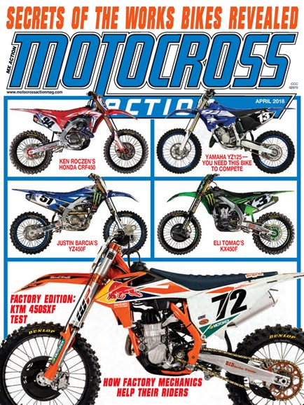 Motocross Action Cover - 4/1/2018