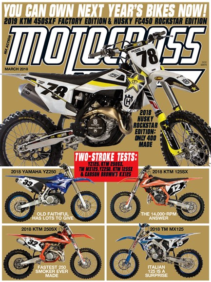 Motocross Action Cover - 3/1/2018