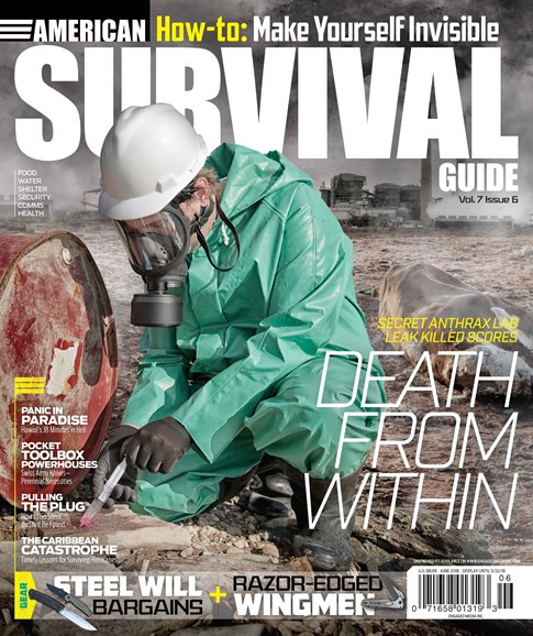 American Survival Guide Cover - 6/1/2018