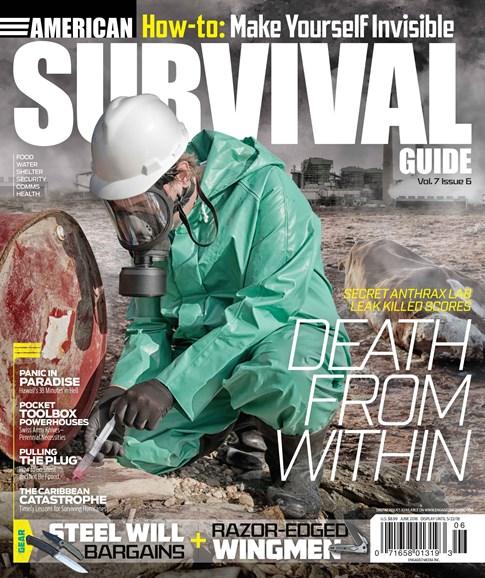 American Survival Guide Cover - 6/1/2018